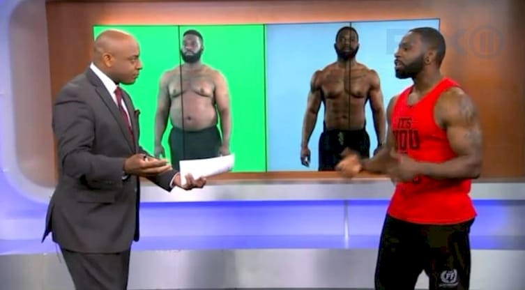 Man Gets In Shape Then Gains A Lot Of Weight To Motivate Client To Lose Weight( Click To See Amazing Transformation)