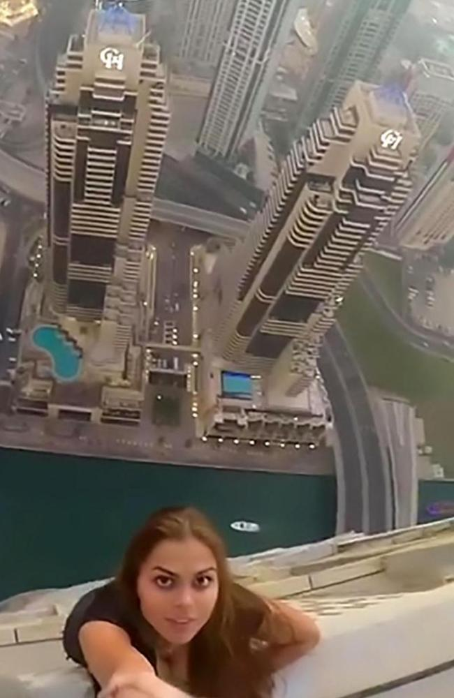 You Won't Believe What This Model Did To Get A Perfect Shot.