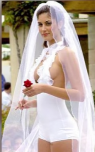 Eight Craziest Wedding Dresses of All Time