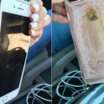 No Phone Is Safe! An iPhone Explodes And People Go Into Panic Mode
