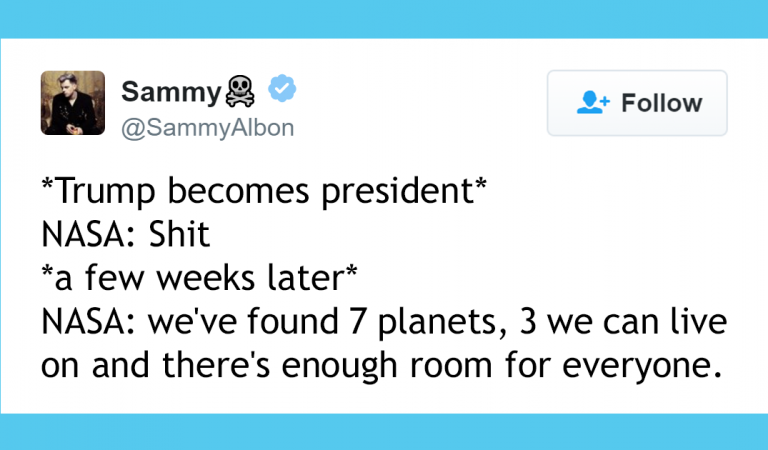 The Best Tweets Regarding Nasa's New Solar System Discovery!