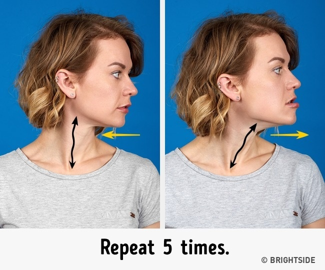 Are You Tired Of Your Double Chin? Do These 7 Exercises.