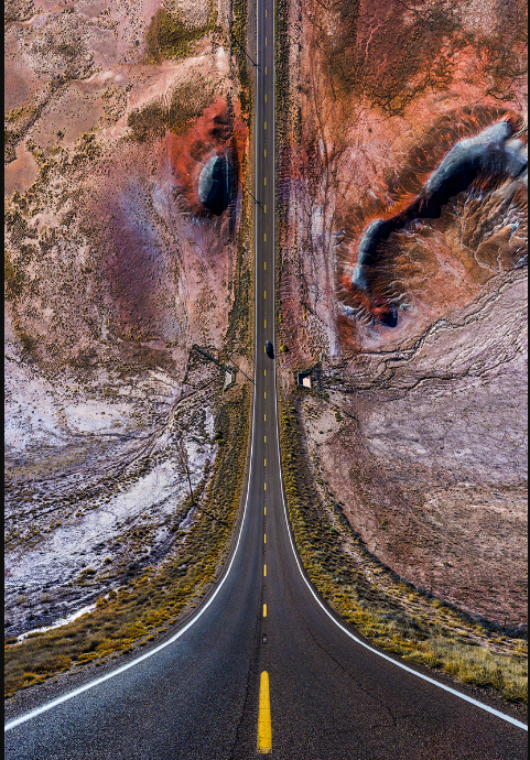 This Beautiful Photographic Series Shows Us Elusions Of The World We Have Built.