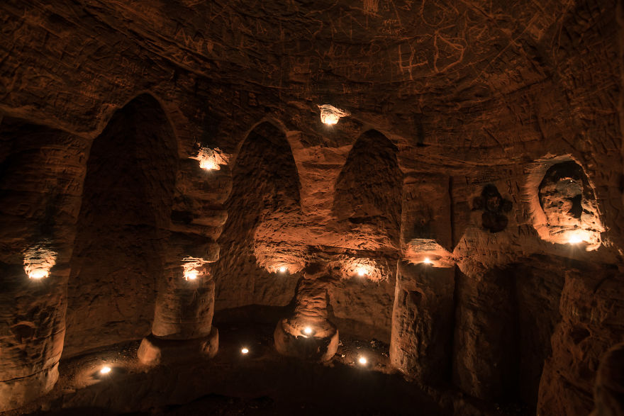 This Rabbit Hole Leads To A Mysterious Temple That Was Once Owned By Knights