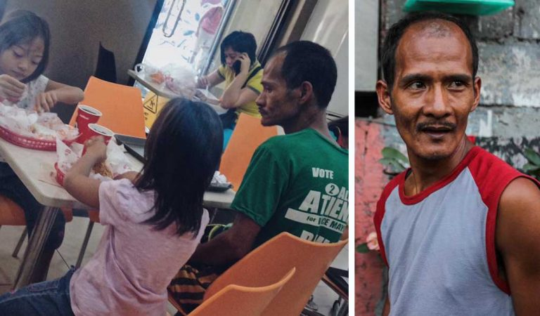 This One Filipino Single Dad Truly Represents How Selfless Parents Are!