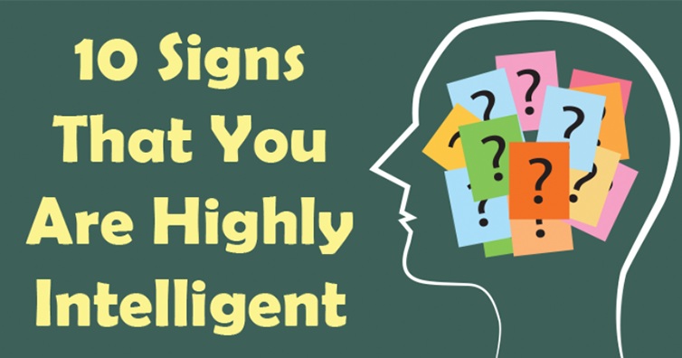 If You Have These 10 Signs Mean You Are A Genius!!