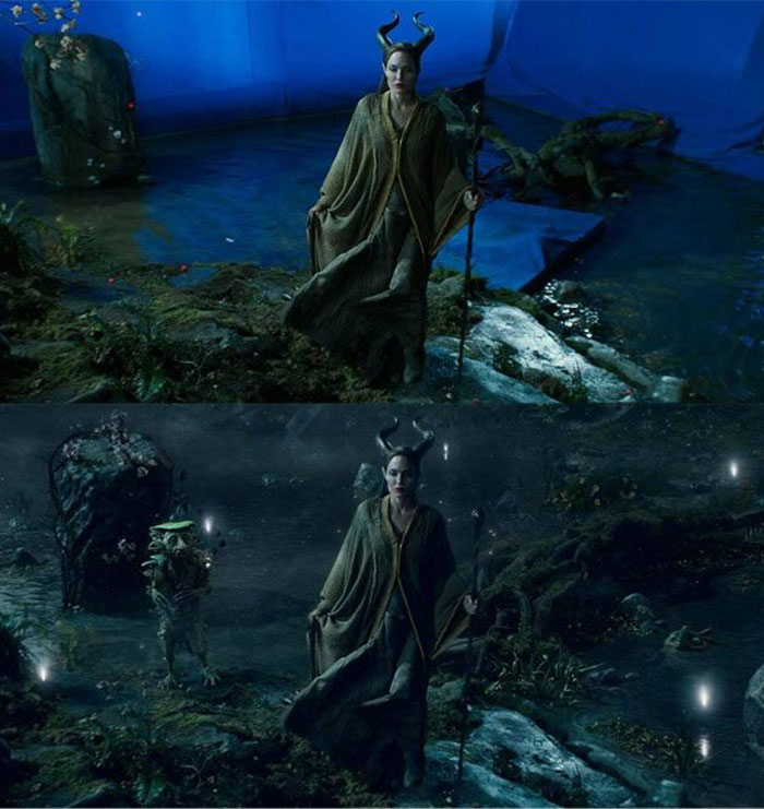You Would Be Astonished To See These Before And After Pictures Of Visual Effects!