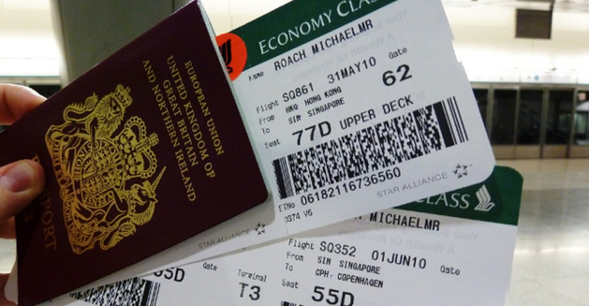 The boarding pass is not just a piece of paper so don't post pictures of it online or thrown them away! They are more valuable than you think!