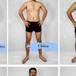 Graphic Designers from 16 Countries Photoshopped a Man's Body to Tell Different Body Standards of Each Country
