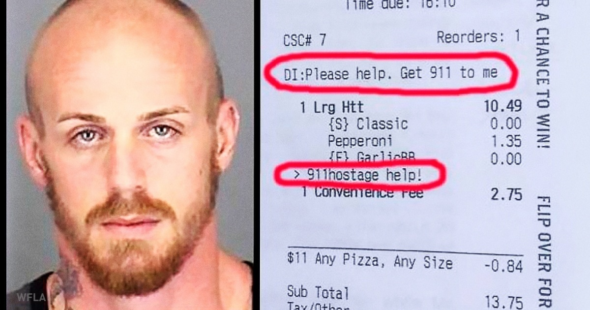 Pizza Hut Helped A Woman Who Was Held Hostage!