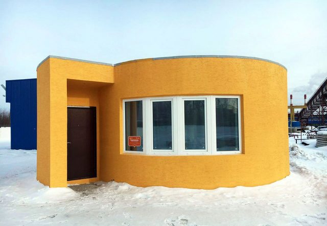 This new technology enables you to build your house in 24 hours, yes 24 hours.