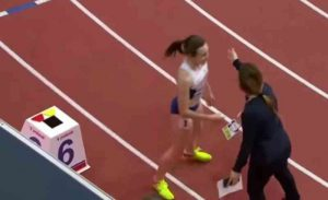 You Won't Believe What This Runner Did When She Was Refused To Take Her Victory Lap Run!