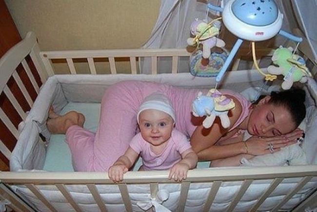 Parents Will Relate To These Cute Images Of Babies Making Lives Difficult!