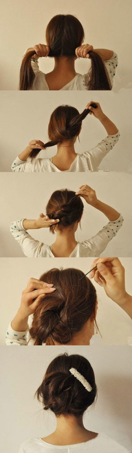 Here Are 14 Hairstyles That Consume 3 Minutes Of Your Time While Making And Make You Look Different!