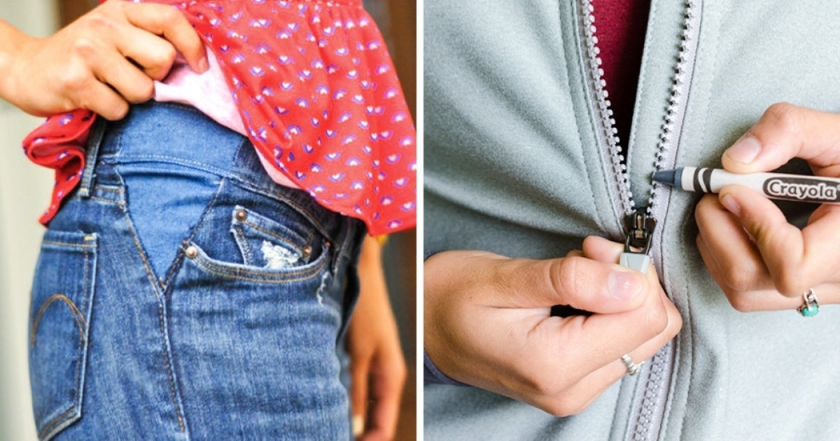 These 18 Tricks Will Save You A Lot Of Money And Will Make Your Clothes Last Longer.