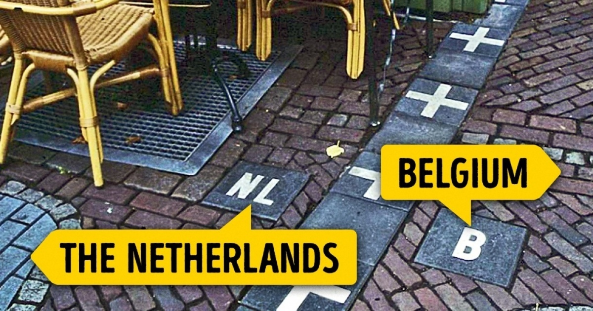 13 Highly Fascinating International Borders From Around The World!
