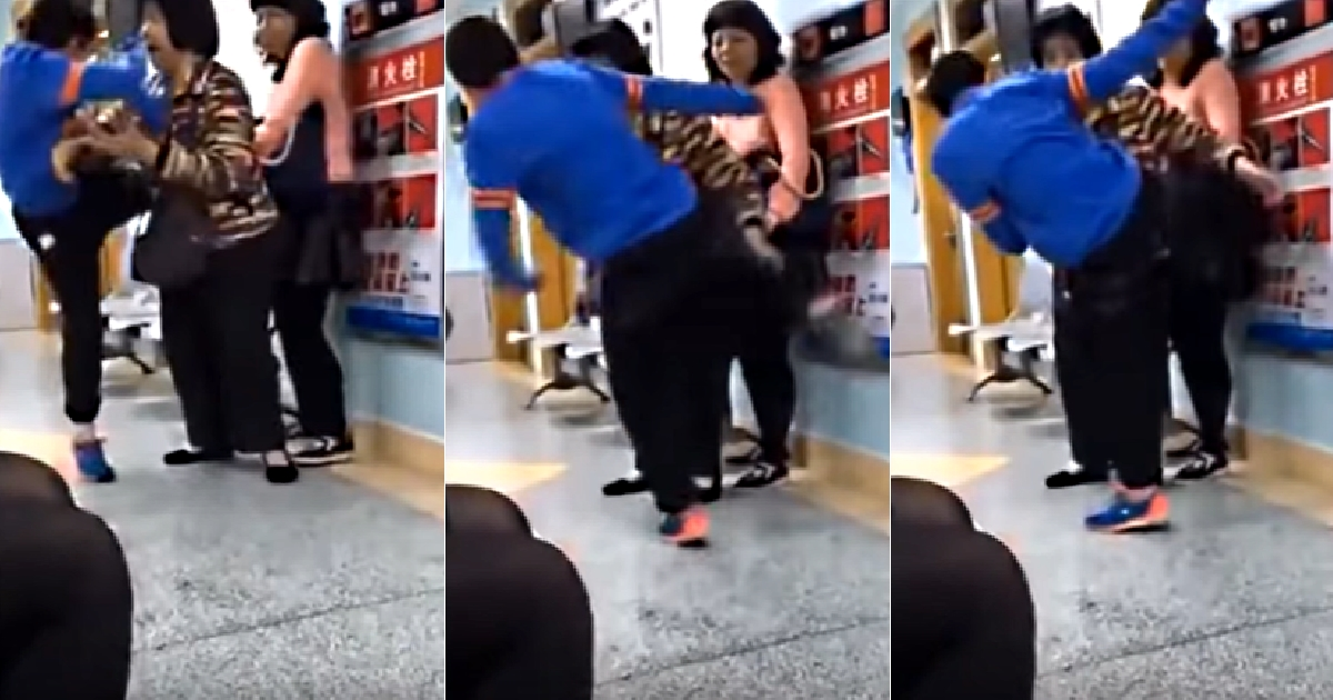 A Spoiled Boy From China Kicked Her Mother In The Face And The Reason Will Shock You To Say The Least.