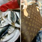 Grandma From Taiwan Used A Louis Vuitton Bag To Carry Fish!