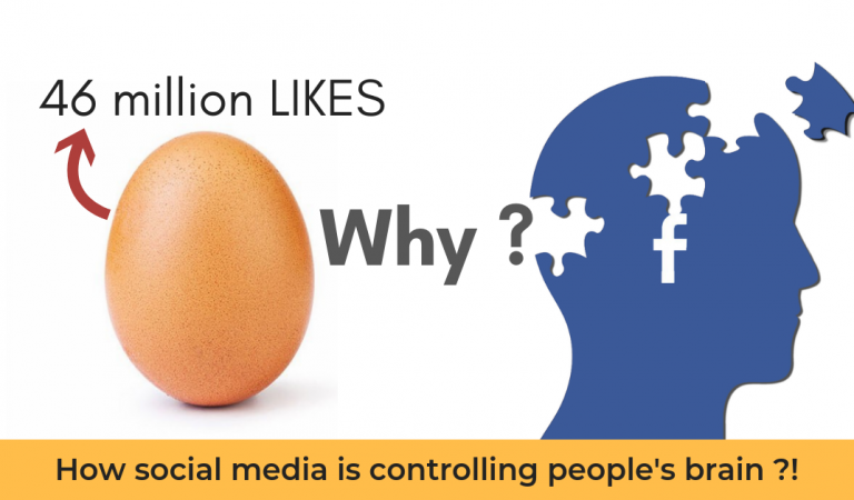 "What's Hidden Behind ""the world record egg"" and How Social Media is Playing With Our Brain?"