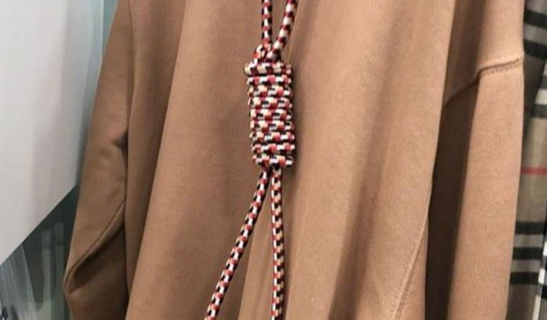 Burberry Apologizes for Debuting Hoodie With Noose Around Neck